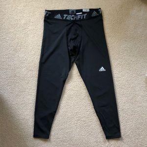 Lot of 4: adidas TechFit Compression Shorts/Tights